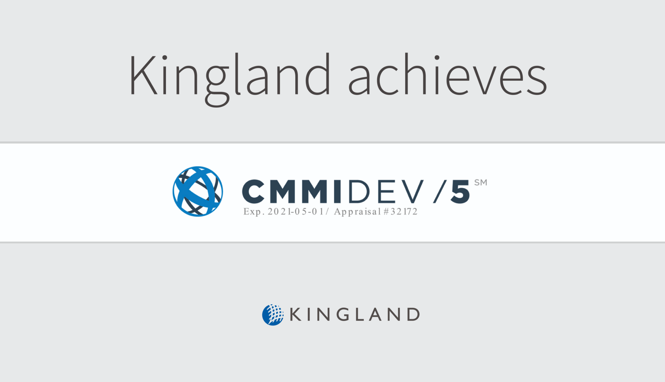 Kingland Achieves Level 5