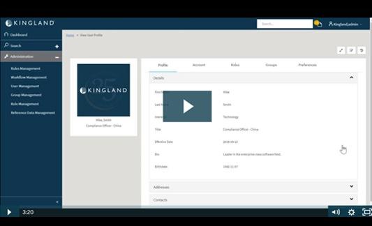 Platform Demo: Role and Group Management