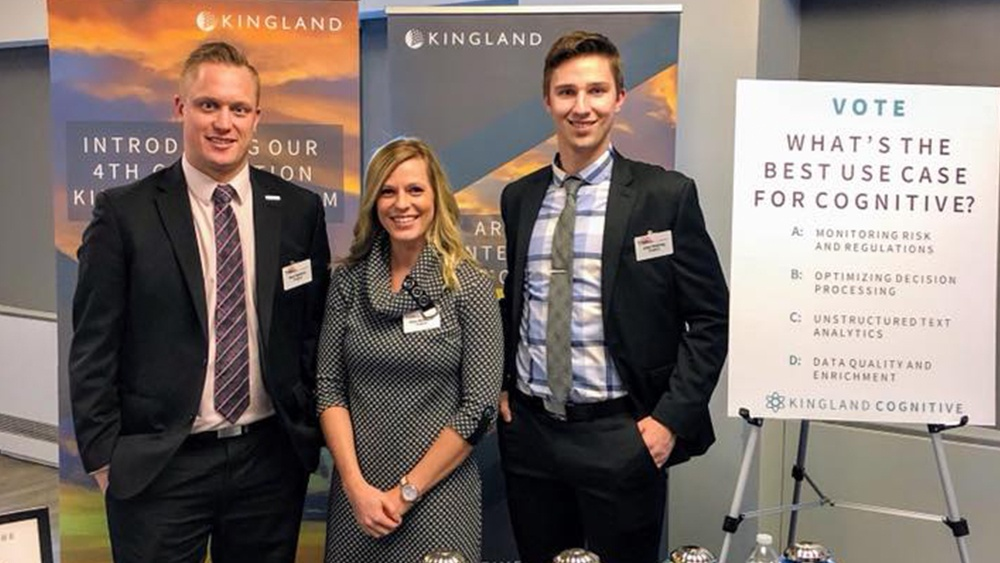 Kingland at RegTech, New York